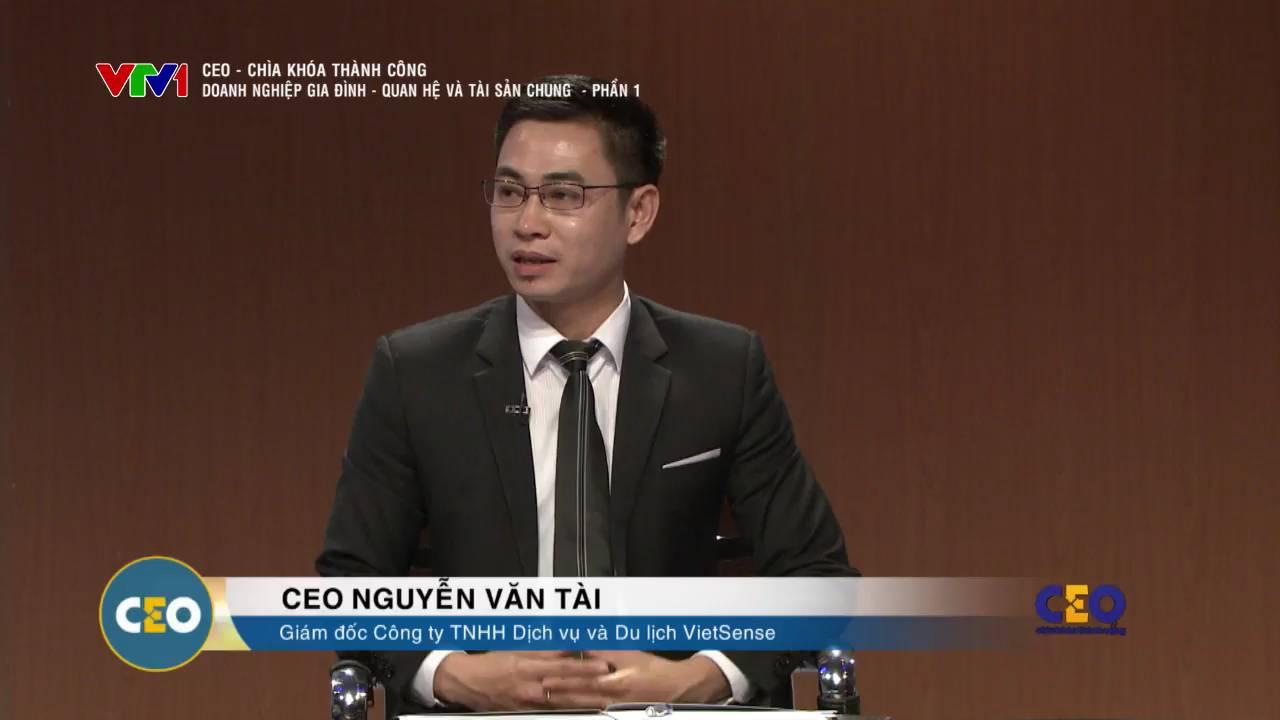 """GĐ Nguyễn Văn Tài đồng hành cùng chương trình """"CEO – Chìa khóa thành công"""" - Ảnh 1"""