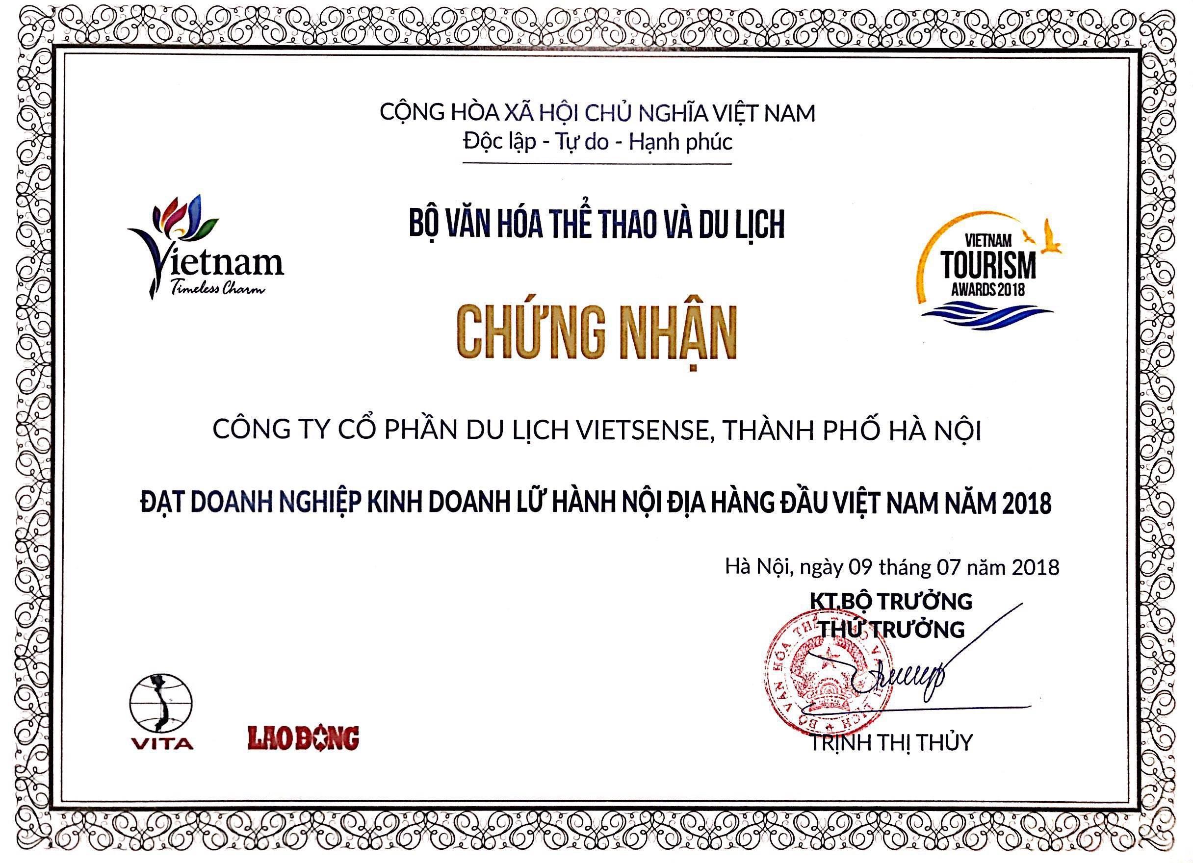 VietSense Travel Được Vinh Danh Trong Top 10 Công Ty Du Lịch Hàng Đầu Việt Nam - Ảnh 4