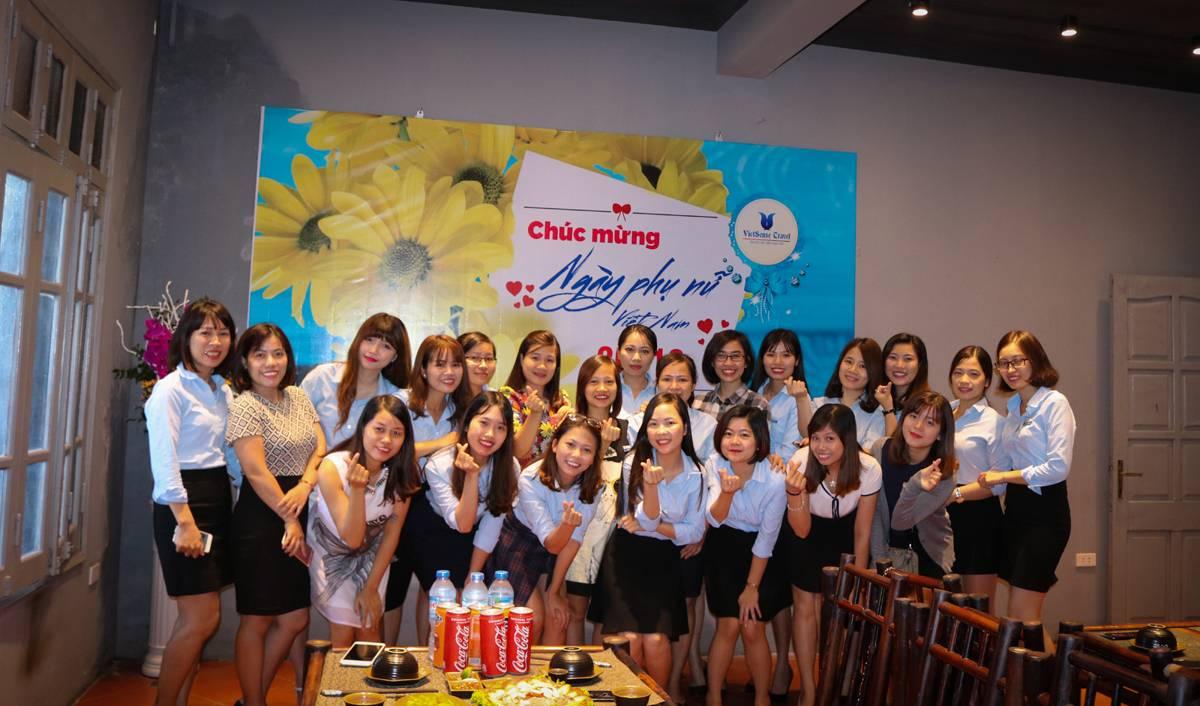 VietSense Travel tưng bừng liên hoan chào mừng 20/10 - Ảnh 1