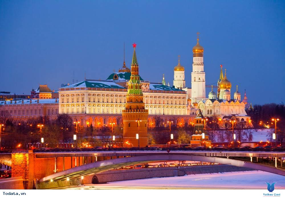 Điện Kremlin Một Trong Những Trái Tim Của Đất Nước Nga