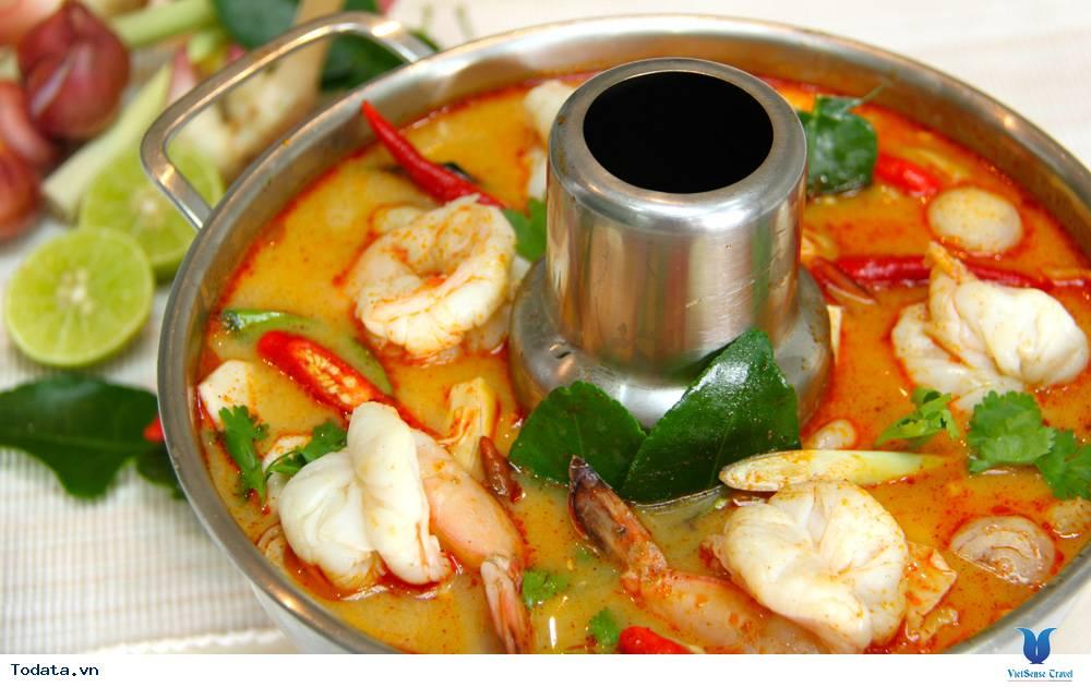 Hương vị hấp dẫn của nền ẩm thực truyền thống Thái Lan