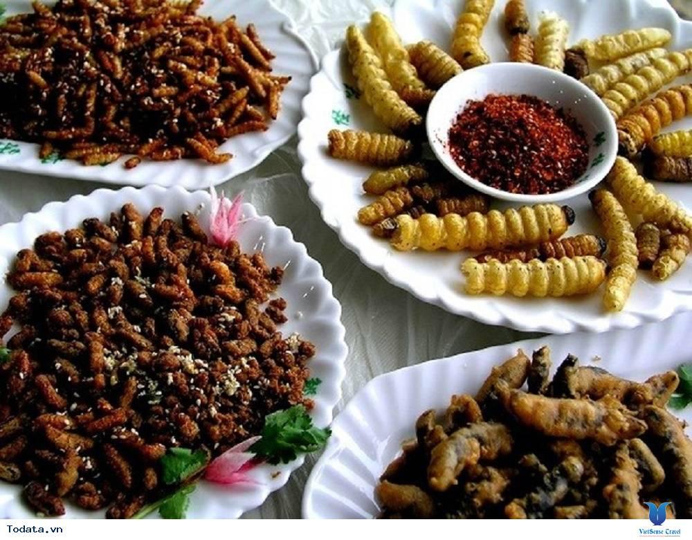 Khác biệt với đặc sản côn trùng tại Lào