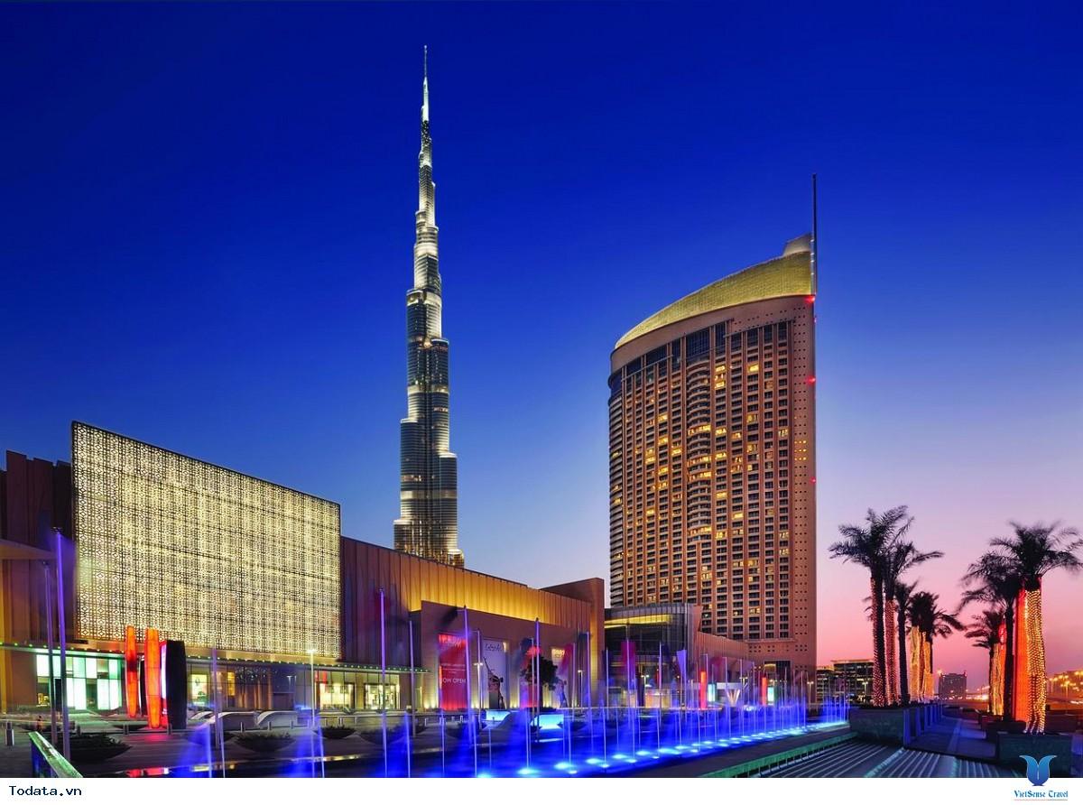 Khám Phá Trung Tâm Mua Sắm Lớn Nhất Thế Giới Dubai Mall