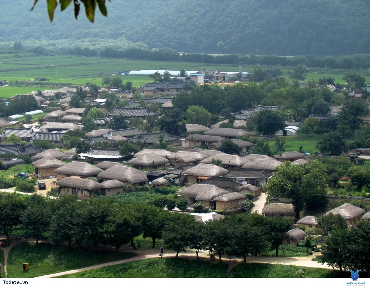 Khám phá vẻ đẹp làng văn hóa dân tộc Hanok