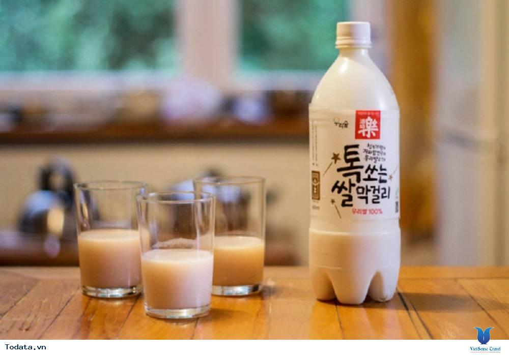 Rượu  gạo makgeolli Hàn Quốc, giai nhân của đồ nướng