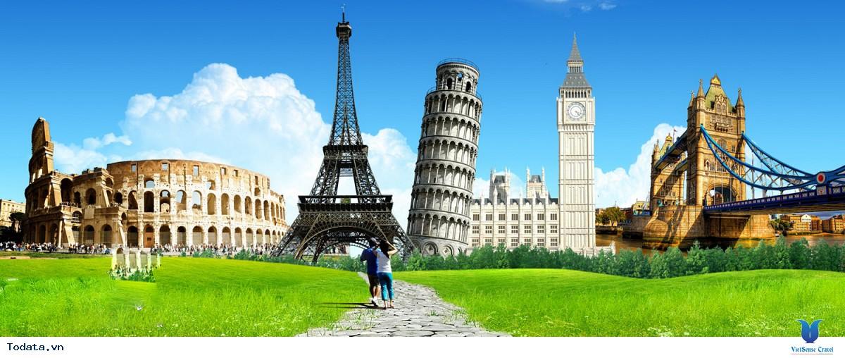 Tour Du Lịch Châu Âu 11 Ngày: Pháp - Thụy Sĩ - Ý
