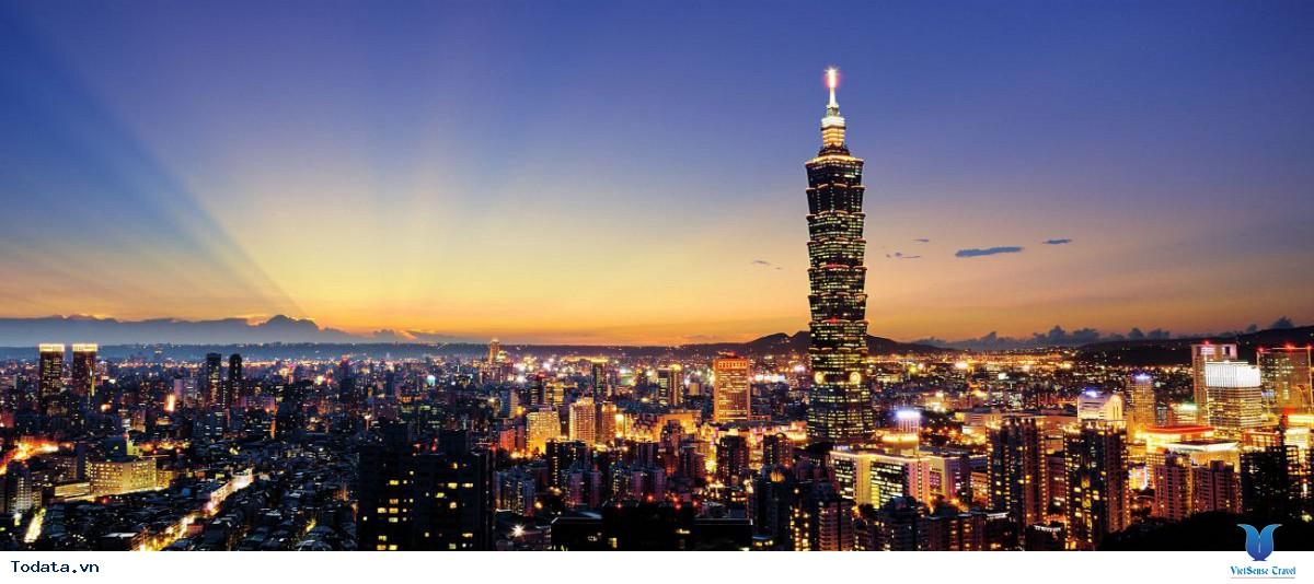 Tour Du Lịch Đài Loan 5 Ngày 4 Đêm: Hà Nội - Đài Bắc - Đài Trung