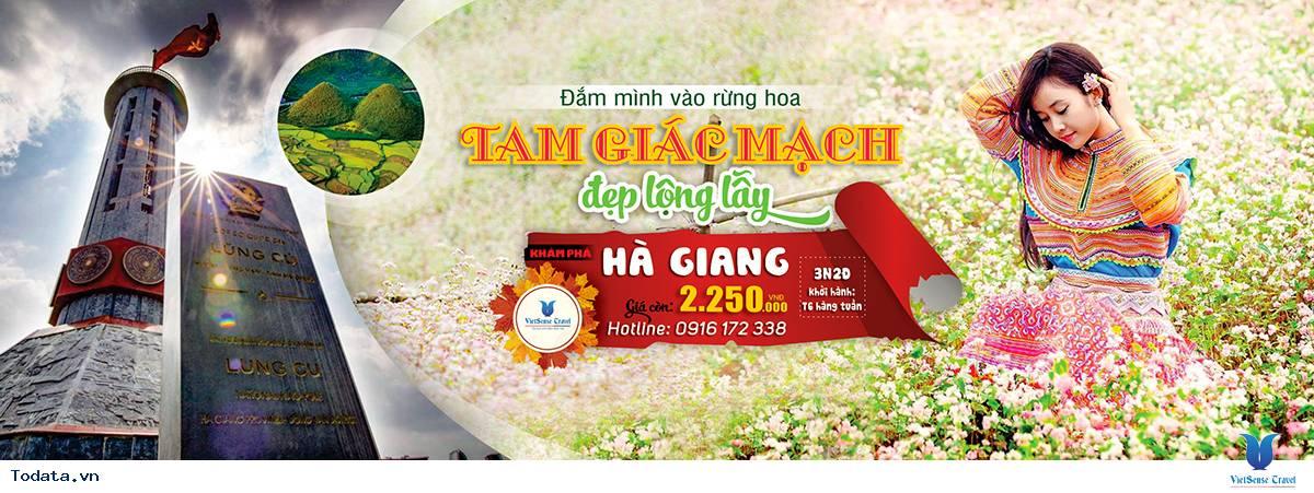 Tour Hà Giang Mùa Hoa Tam Giác Mạch 3 Ngày 2 Đêm Khởi Hành Hàng Ngày