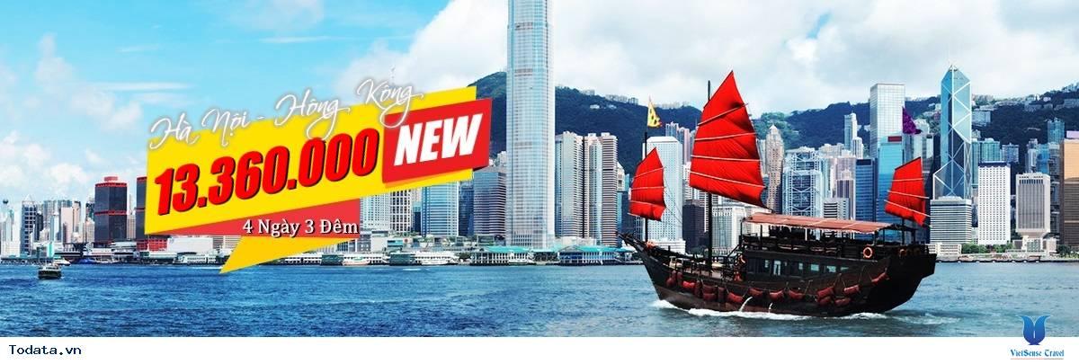 Tour du lịch 4 Ngày 3 đêm Hà Nội – Hồng Kông