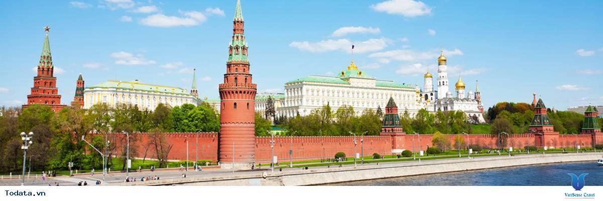 Tour Du Lịch Nga 7 Ngày - Moscow - Saint Peterburg Từ Hà Nội