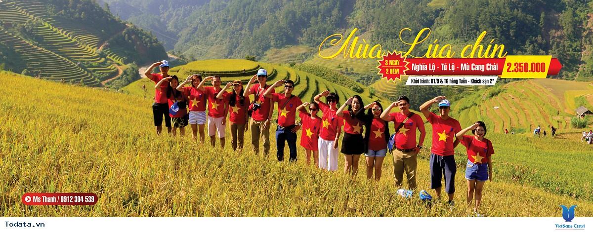 Tour Du Lịch Nghĩa Lộ - Mù Cang Chải - Tú Lệ từ Hà Nội