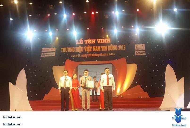 VietSens Travel Thương Hiệu Việt Nam Tin Dùng 2015