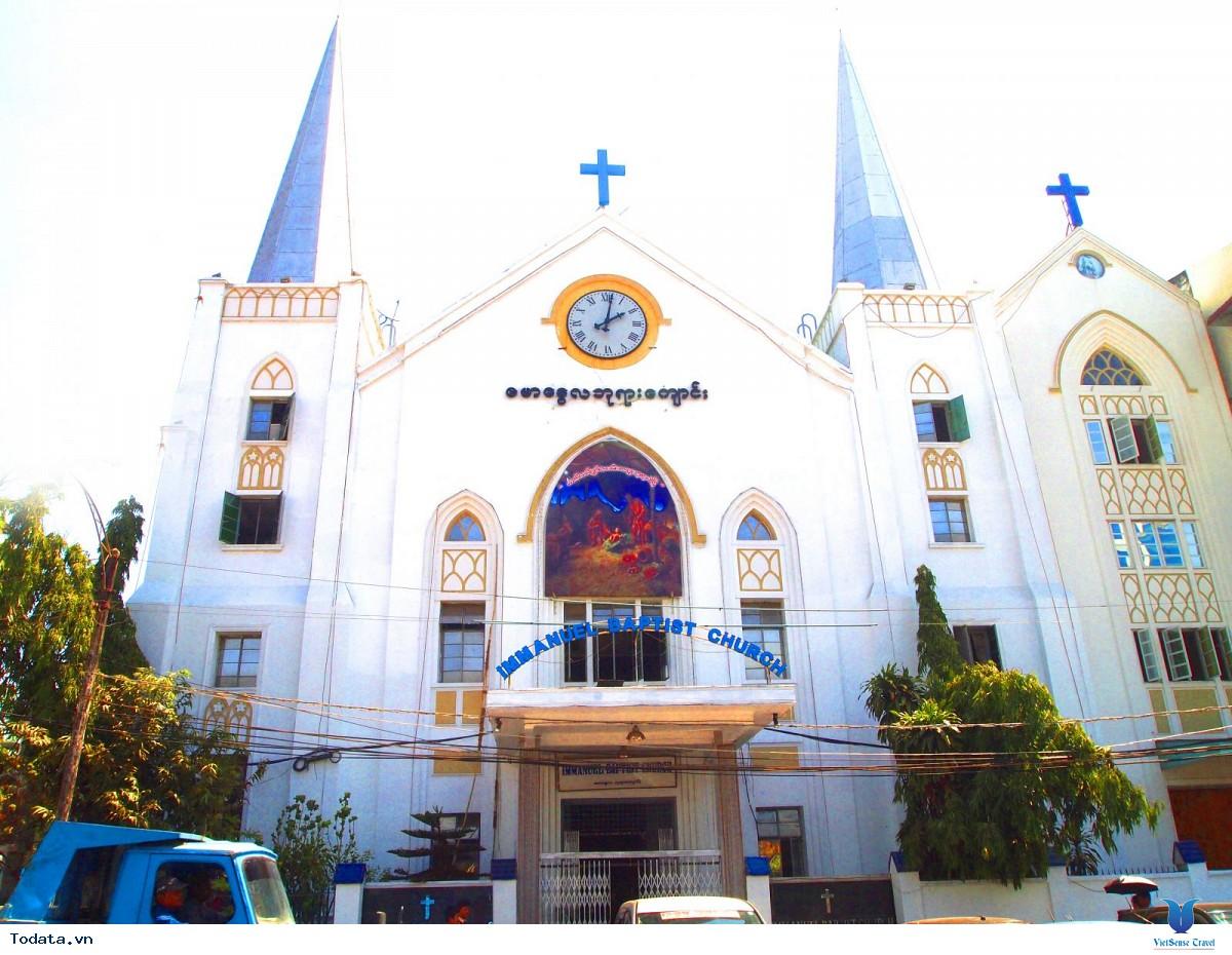 Thư viện ảnh Tòa thị chính thành phố Yangon Myanmar