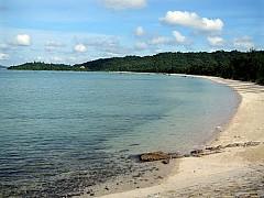 Bắc Vàn - Bãi tắm Yên Bình Nơi Biển Đảo Cô Tô