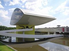Bảo tàng Oscar Niemeyer hình con mắt độc đáo