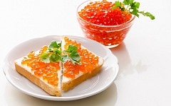 Đặc sản cá hồi và trứng cá ở Nga