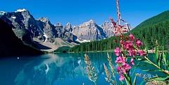 Hồ nước Moraine đẹp nhất thế giới ở Canada