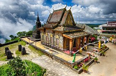 Khám phá nét đẹp bí ẩn chùa Năm Thuyền Campuchia
