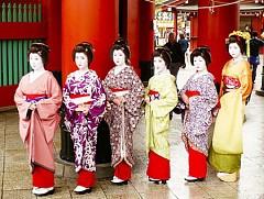 Ngắm càng nàng geisha xinh đẹp ở khu phố cổ Gion
