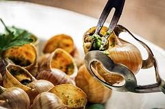 Ốc sên nướng trên đất Pháp