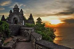 Phút dừng chân ngắm vẻ đẹp ngôi đền Uluwatu
