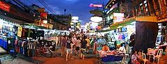 Tham quan con đường Khao San nổi tiếng của Thái Lan