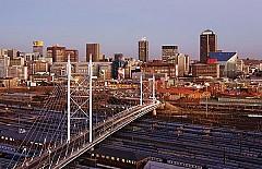 Thành phố vương giả Johannesburg ở Nam Phi