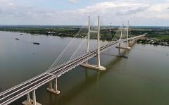 Thông xe cầu Cao Lãnh, miền Tây đi Sài Gòn giảm 20km