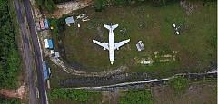 Từng có một chiếc Boeing 737 nằm bỏ không trên cánh đồng Bali