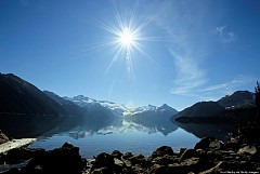 Vẻ đẹp hữu tình của hồ núi lửa Garibaldi