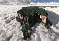 Vẻ đẹp tuyệt mỹ của núi Roraima
