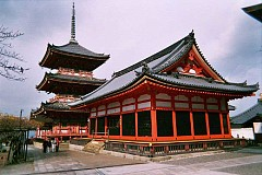 Viếng thăm ngôi chùa cổ Kiyomizu Dera ở Nhật Bản