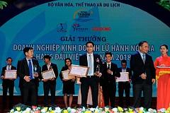 VietSense Travel Được Vinh Danh Trong Top 10 Công Ty Du Lịch Hàng Đầu Việt Nam