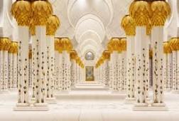 Bên trong thánh đường Sheikh Zayed
