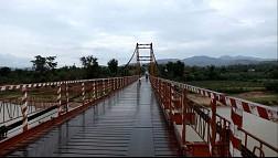 Cầu treo Kon K'lor – Điểm xuyết cho cảnh núi rừng Tây Nguyên