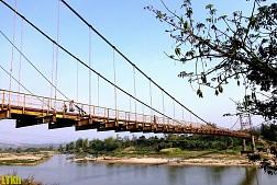 Cầu treo Kon Klor, cây cầu treo to và đẹp nhất Tây Nguyên