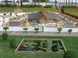 Chiêm ngưỡng các công trình kiến trúc thu nhỏ bên trong Mini Siam
