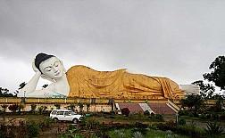 Chùa Phật Nằm Shwethalyaung vùng Bago