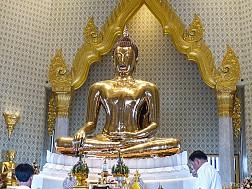 Chùa Phật Vàng [Wat Traimit] ở Bangkok - Khám phá Thái Lan