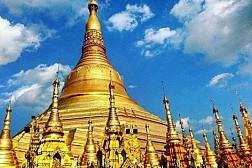 Chùa Shwe Mor Daw cao nhất Myanmar