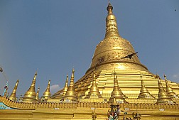 Chùa Shwe Mor Daw lưu giữ nhiều di tích của Đức Phật