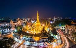 Chùa Sule linh thiêng, nổi tiếng ở Yagon