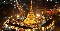 Chùa Sule, ngôi chùa linh thiêng nhất nhì tại mảnh đất Phật giáo
