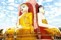 Chùa Tượng Phật 4 Mặt Kyaitpun