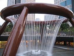 Đài phun nước chảy ngược Fountain of wealth