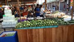 Dạo quanh chợ thực phẩm về đêm của Pattaya Thái Lan