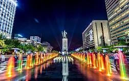 Đến Với Quảng Trường Gwanghwamun Square