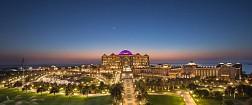 Emirates Palace về đêm