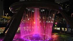 Fountain of wealth, công trình phong thủy tuyệt vời