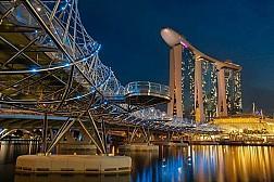 Helix Bridge, cây cầu xoắn ốc đầu tiên trên thế giới
